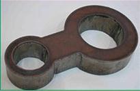 供应优质低价钢板异形切割件,冲压件,法兰