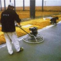 供应河北做绿色金刚砂地坪材料包工包料价格