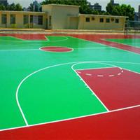 供应郑州塑胶篮球场