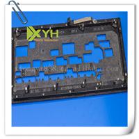 供应黑色合成石开孔加工蓝色石合成插件