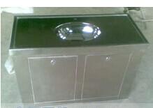 供应不锈钢洗手柜,不锈钢拉丝洗手柜_诺信卫生洁具