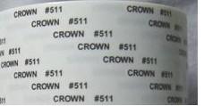 供应皇冠品牌 DS511 512 513高强度双面胶带