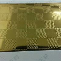 不锈钢钛金方格板