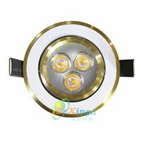 供应LED灯具 3W天花灯