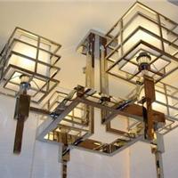 供应电镀不锈钢彩色灯架,异形灯柱厂家定制