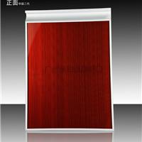 供应全钢化晶钢门 橱柜门板烤漆贴膜晶钢门