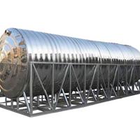 湖南不锈钢圆柱形水箱价格_圆柱形水箱价格