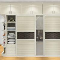米兰剪影卧房家具型号:A18155_衣柜品牌