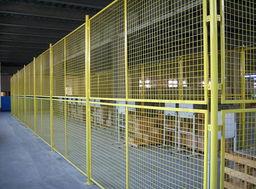 供应  卷圈状隔离防护网 仓库隔离网厂家