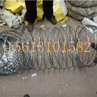 郑州环形刀片刺绳厂家专卖-刺丝安全网发货
