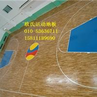 室内篮球场地板 室内篮球馆木地板