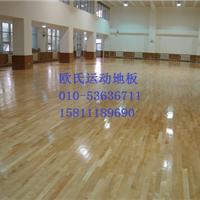 体育馆专用实木地板 日照篮球场运动木地板