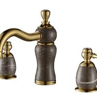 恩莱卫浴供应天然玉石水龙头8406欧式龙头