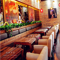 供应西餐厅桌椅定做 西餐厅桌椅定制