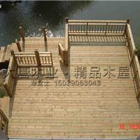 供应农家院木栈道的设计及每平米的价格