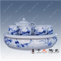 精美陶瓷茶具价格 景德镇陶瓷茶具厂家批发