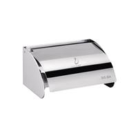 欧式高级不锈钢纸盒/纸巾架卷纸器卫生纸架
