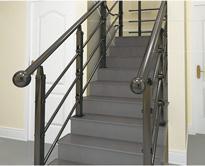 不锈钢楼梯扶手/彩色免焊楼梯扶手FS-MH-002