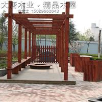 供应木屋木廊架、花架、花架的价格