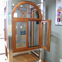 洛克木铝铝木门窗铝木木铝阳光房供应