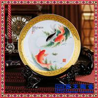供应青花手绘陶瓷纪念盘 粉彩陶瓷纪念盘