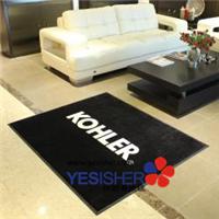橡胶地垫 广告地垫 广告地毯高级定制地毯