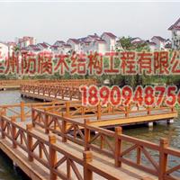 兰州防腐木栈道围栏18909487560