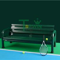 供应铝合金户外球场休息椅,园林休闲椅