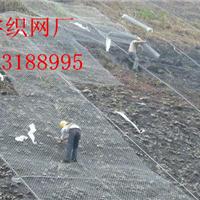 供应镀高尔凡落石防护网生态护坡绿格网