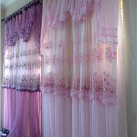 蕾丝窗帘布艺
