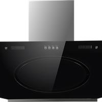 黑晶玻璃面板油烟机 厨房电器 燃气灶供应