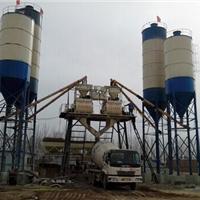 供应HZS25/35/50连体混凝土搅拌站