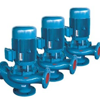 供应GW型无堵塞排污式管道泵 管道污水泵