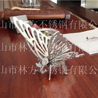 供应新款立体蝴蝶不锈钢工艺品