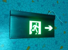 供应全铝疏散指示吊牌 高档全铝吊牌标志灯