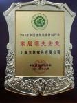 2013中国建筑装饰材料行业家居领先企业