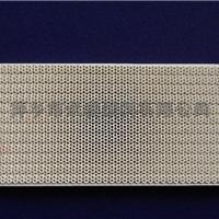 供应186X134*13mm蜂窝陶瓷燃烧板 燃气专用