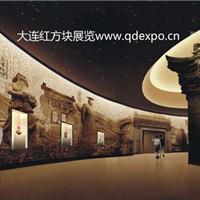 大连民族文化博物馆展示案例-红方块