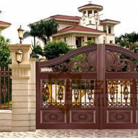 铸铝门 豪华别墅大门 欧式庭院大门