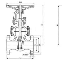 供应铸钢闸阀Z41H-16C