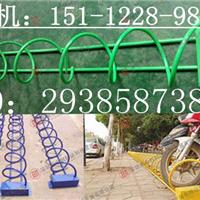 供应中创不锈钢自行车停车架厂家