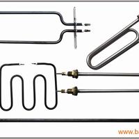 法兰电热管 带法兰加热管订做 铁氟龙加热管