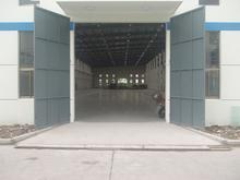 厂家直销贵州厂房钢大门平开电动钢大门厂家