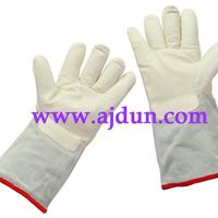供应液氮防护手套 -250低温液氮手套36cm