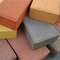 供应透水砖彩砖环保砖植草砖
