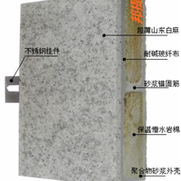 供应超薄石材复合板卡拉麦里金饰面