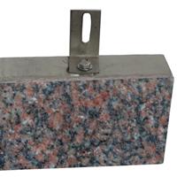 供应超薄饰面石材皇室棕保温装饰一体板