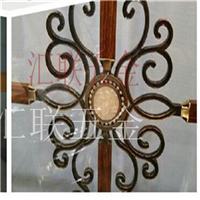 供应新款玻璃门花高档大气装饰铝门花