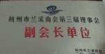 杭州市兰溪商会第三届理事会副会长单位