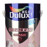 供应多乐士金装防水无添加五合一墙面漆 5L